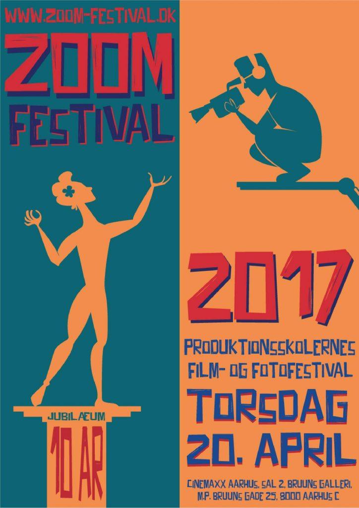ZOOM FESTIVAL 2017 VINDER PLAKAT
